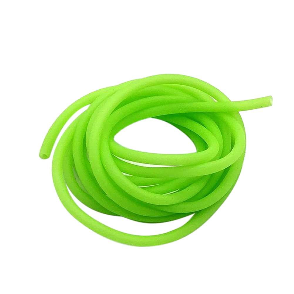 Luminous Accessories Rig Lure Connector Attractant Hook Line Durable Sleeves Silicone Green Fishing Tube Wear Resistance Soft