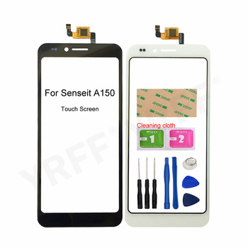 5.0'' Touch Glass Screen For Senseit A150 Touch Screen Digitizer Sensor Glass Panel Replacement Parts witblue new mglctp 701271 touch screen touch panel glass sensor digitizer replacement for 7 inch tablet