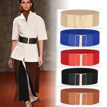 New Design Cummerbund Vintage Wide elastic Women Belts Jeans