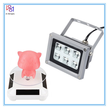 High Quality Uv Led Resin Curing Light Lamp 405nm 110-260v For Anycubic Photon Sla Dlp 3d Printer Photosensitive Parts 3d photocuring printer accessories metal uv resin filter cup silicon funnel disposable for anycubic photon dlp sla parts
