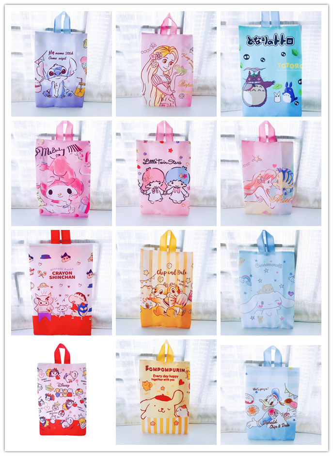 IVYYE Stitch Mickey Fashion Anime Portable Travel Bag Reusable Tote Foldable Handbags Luggage Shoes Pouch Storage Bags NEW