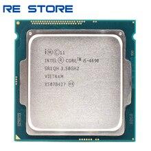 Б/у процессор Intel Core i5 4690, 3,50 ГГц, Разъем 1150, четырехъядерный, настольный SR1QH