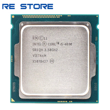 Verwendet Intel Core i5 4690 CPU Prozessor 3,50 Ghz Sockel 1150 Quad Core Desktop SR1QH