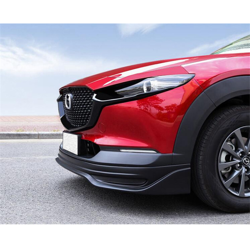 CEYUSOT FOR Car Grille Trim Strip Mazda CX-30 CX30 FRONT Bumper Full Star RACING Grills Cover Trim Car Styling ACCESSORIES 2020+
