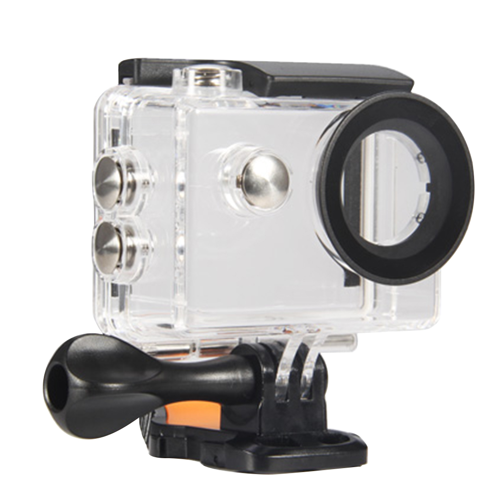Outdoor With Red Filter Durable Underwater Action Camera Use Waterproof Case Protect Transparent Sport Housing For Eken H9r Sports Camcorder Cases Aliexpress