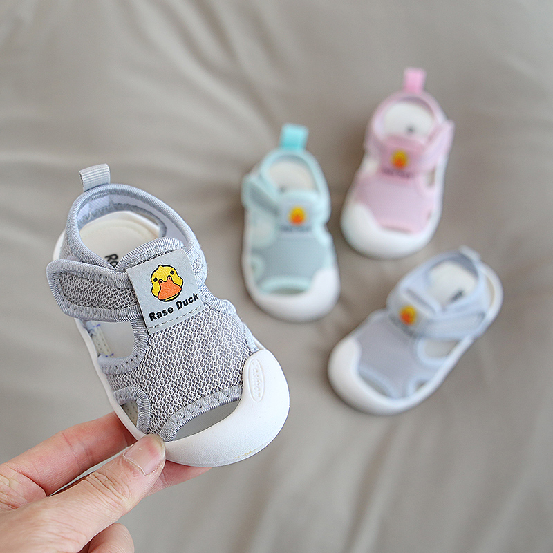 2020 Summer Infant Toddler Shoes Baby Girls Boys Shoes Non-Slip Breathable Kids Children Anti-collision Casual Beach Shoes