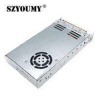 SZYOUMY 10PCS Free DHL Ultra thin 12V 30A Switching Power Supply 215x115x30mm 360W for Led Screen