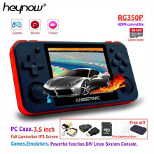 HEYNOW RG350P Linux System Retro Game Console PS1 Game Emulator HDMI-compatible Video Handheld Game Player 3.5