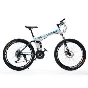 Absorção de choque dobro da bicicleta de montanha dobrável para adulto