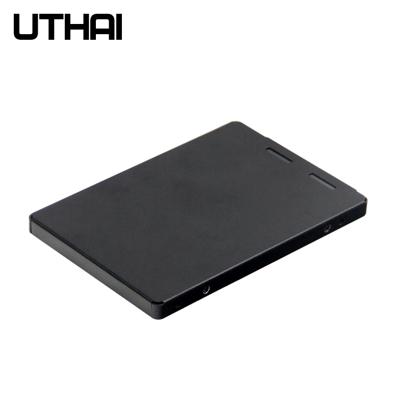 UTHAI G22 M.2 NGFF To SATA3 2.5 Inch SSD Adapter Box M2 Solid State Drive Case M2 To SSD Box  Aluminum Alloy