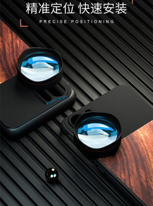 Image 5 - Kase Moblie Phone Lens Wooden+Aluminum Alloy Case Holder for Huawei Mate 20 P30 P40 P20 Pro P10 and 17mm Mount Smartphone Lens