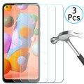3 шт., Защитное стекло для Samsung Galaxy A11 A21 A31 A41 A51 A71 A01 M11 M21 M31