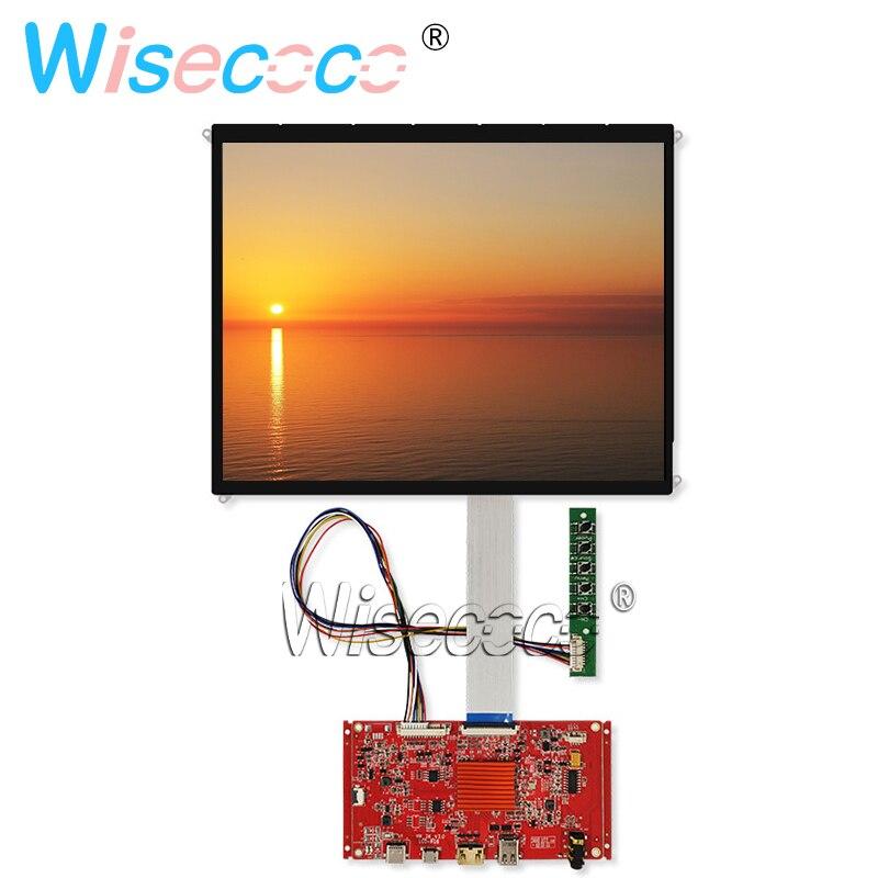 9.7 Inch 2048x1536 IPS LCD LP097QX1-SPC1 Laptop Screen Display  Type C EDP HDMI Control Board