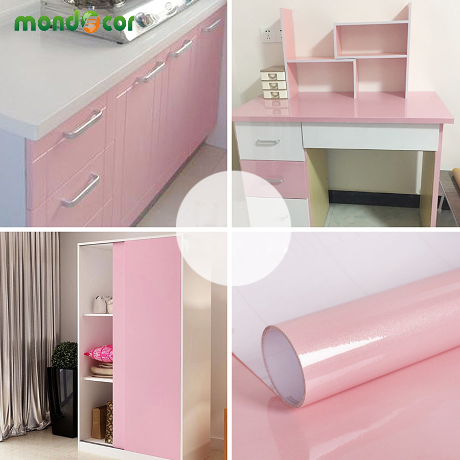 Pink Series Self Adhesive Wallpaper For Bedroom Decor Living Room Wall Papers Home Decor Vinyl Contact Paper For Kitchen Cabinet