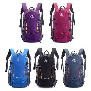 Image 5 - 40L Backpack With Outlet Outdoor Camping Hiking Trekking Rucksack Waterproof Sports Bag Backpacks Bag Climbing Travel Rucksack