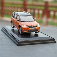 1:43 Scale SKODA Yeti alloy car toy, Exquisite gift,collection model car,diecast metal model toy vehicle,free shipping