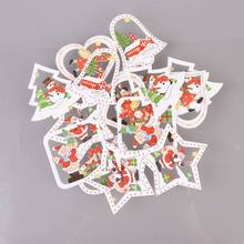 Get more info on the PDIY 10pc Christmas Wooden Xmas Pendants Ornaments Wood Crafts Kids Gift Tree Ornaments Christmas Party Decorations CM