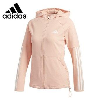 Original New Arrival  Adidas 3S FZ HOODIE Women's  jacket Hooded  Sportswear 1