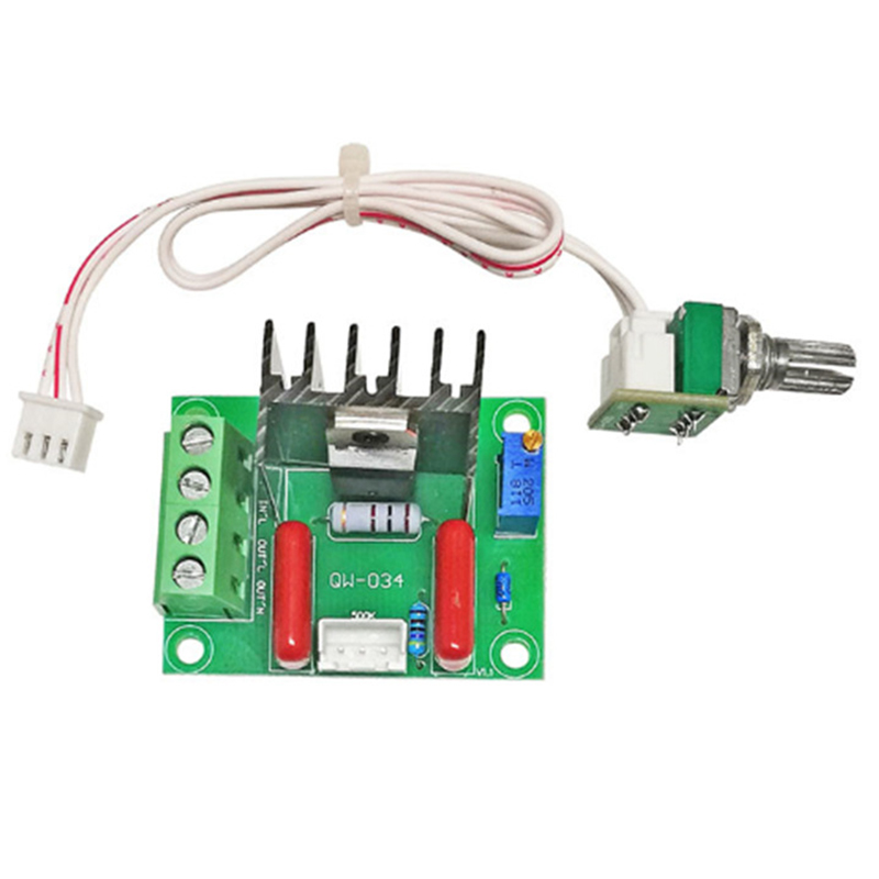 2000W High-Power Thyristor Electronic Voltage Regulator Dimmable Speed and Temperature 25A Motor Speed Regulator