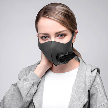 Smart Electric Mask Air Purification Pollution Prevention Dust PM2.5 With Breathing Valve High Quality