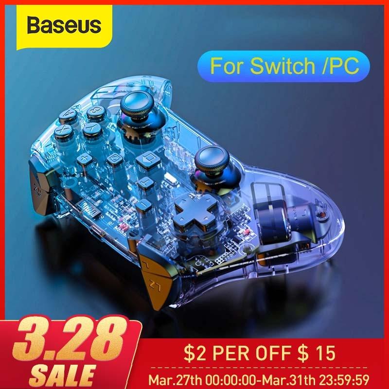 Baseus jogo joystick para nintend lite controlador de jogo sem fio bluetooth gamepad sensor movimento vibração para ns interruptor