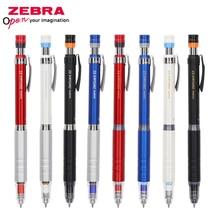 ZEBRA P MA86 lápices mecánicos de cuerpo metálico, sistema antirotura, lápiz de actividades, oficina y escuela, 0,3/0,5mm