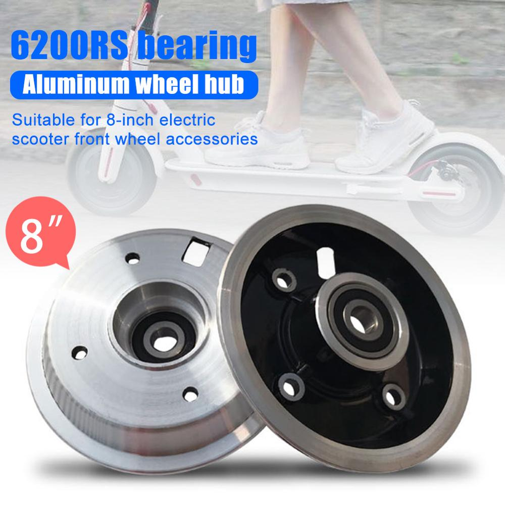 8 inch Wheel Hub For Electric Scooter 200*50 Pneumatic Tires Wheel Hubs with <font><b>6200RS</b></font> Bearing Front Wheels Tires Accessories 1Pc image