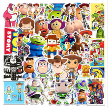 53pcs Toy Story Disney Sticker aesthetical luggage refrigerator piano guitar not repeating cartoon graffiti stickers