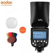 ¡En Stock! Godox V1 Flash V1C V1N V1S TTL 1/8000s HSS de la batería de litio de Speedlite Flash para Canon Nikon Sony