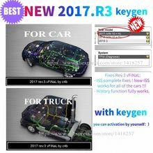 Herramienta de diagnóstico de camiones, dispositivo 2021. R3 con keygen en CD/disco/DVD 2017r1 vd DS150E cdp para delphis vdijk autocoms pro, novedad de 2017