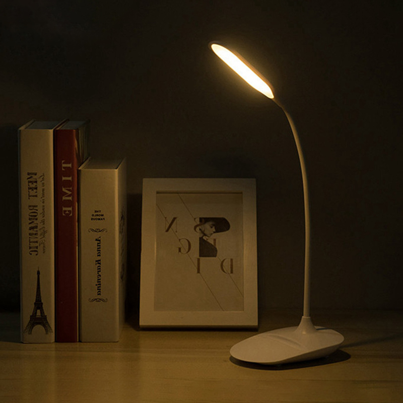 Mini lâmpada de mesa dobrável led aprendizagem