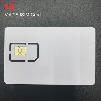 OYEITIMES Hot New 5G VoLTE ISIM Card Blank Mini Nano Micro Writable Programable ISIM Card for Operators Milenage Algorithm nephron algorithm