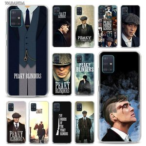 Peaky Blinders Hard PC Phone Case For Samsung Galaxy A51 A71 A01 A11 A21 A21s A31 A41 A91 A7 A9 Back Shell Cover Coque Fundas