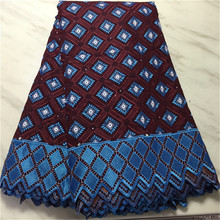 Wholesale Rhombus High Quality Swiss Voile Lace In Switzerland Pretty 100% Cotton Swiss Voile Laces For African Sewing Dress PS swiss voile lace 100