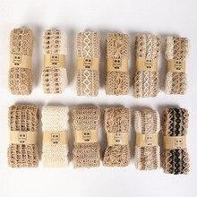 2 м швейная одежда деревенская тканая лента DIY ручной работы Одежда Обувь Аксессуары пеньковая веревка Свадебный Рождественский Декор