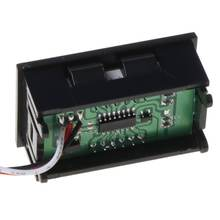 Мини вольтметр тест er цифровой тестер напряжения батарея постоянного