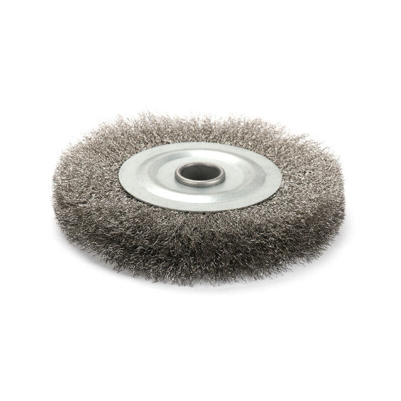 roda escova para moedor de bancada remoção ferrugem deburr ferramentas