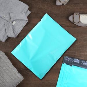 Image 5 - Speedy Mailers 10x13 pulgadas 100 Uds verde Poly Mailer colorido Poly Mailer bolsas auto sellado plástico embalaje sobres bolsas