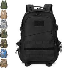 40л альпинистский рюкзак военная сумка usb мужские дорожные