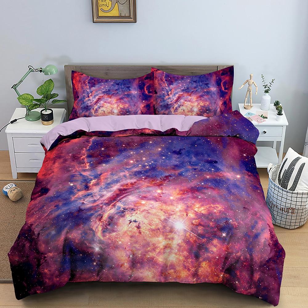 Parure de lit avec housse de couette motif 3d