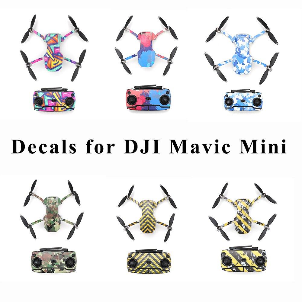 Mavic Mini Protective Film PVC Stickers Waterproof Scratch-proof Decals Full Cover Skin For DJI Mavic Mini Drone Accessories