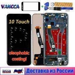 Pour Huawei Honor 8X JSN-AL00 JSN-L22 6.5 pouces LCD affichage 10 écran tactile numériseur assemblage cadre oléophobe revêtement