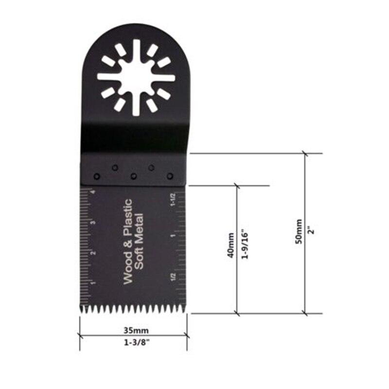 Tooth Oscillating Tool For Fein Makita RIDGID Ryobi Milwaukee 10pcs 58CrV Multi 50-54HRC Hot Sale
