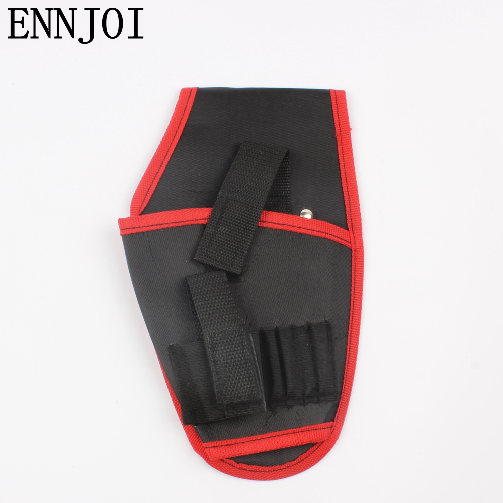 Portable Cordless Drill Holder  Tool Pouch For 12V Drill Screwdriver Waist Tool Bag New