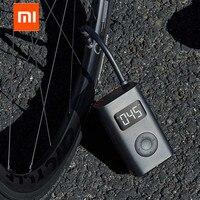 Original xiaomi mijia portátil inteligente digital de detecção pressão dos pneus inflator bomba elétrica para moto carro futebol|Controle remoto inteligente| |  -