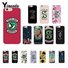 Yinuoda American TV Riverdale Southside Serpents DIY Luxury Case For iPhone 8 7 6 6S Plus X XS MAX 5 5S SE XR 11 11pro 11promax(China)