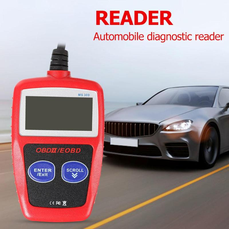 MS309 OBD II Code Reader Scanner Auto Diagnostic Tools Kits Car Automotive CAN BUS Engine Fault Code Reader