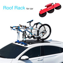 лучшая цена Bicycle Rack Roof-Top Suction Bike Car Rack Carrier Quick Installation Sucker Roof Rack For MTB Mountain Road Bike