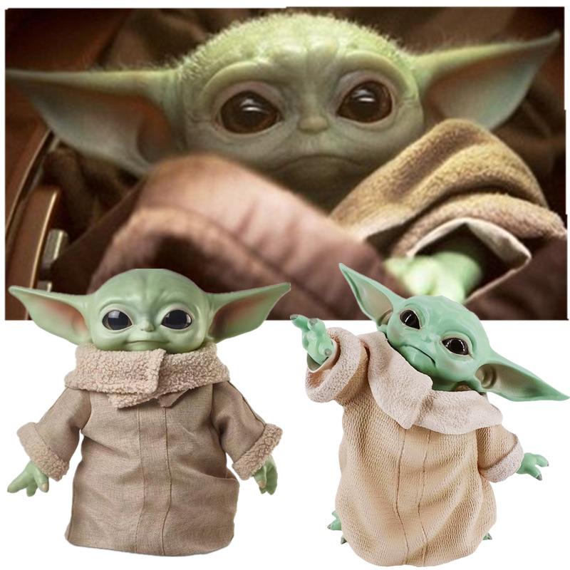 8CM/16CM/30CM/ Star Wars Glow Yoda Baby Action Figure Toys  Yoda Figure Toys Yoda Master Figuras Dolls Toy Gifts For Children