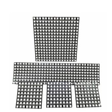 Dc5v ws2812 individualmente endereçável módulo matriz tela ws2812b digital flexível led pixel painel 8x 8/16x1 6/8x32